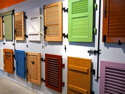 Les volets battants en alu demandez des couleurs votre fabricant for Peinture radiateur couleur aluminium